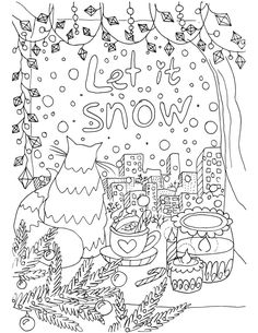 Christmas Coloring Book For Adults 2