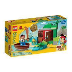 Lego Duplo - Jake En Busca Del Tesoro;  Participa en la Búsqueda del Tesoro con Jake y Skully. Encuentra el brillante doblón de oro y escapa en el barco antes de que te descubran los piratas de Nunca Jamás. Inspirados en la serie de Disney Jake y los Piratas de Nunca Jamás, incluye una figura de Jake... En  http://www.opirata.com/lego-duplo-jake-busca-tesoro-p-25869.html