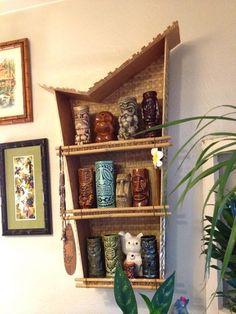 How do you display your tiki mugs? -- Tiki Central