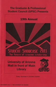 19th Annual Student Showcase Program (2011)