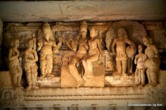 Shiva Parvati's wedding scene in Virupaksha temple