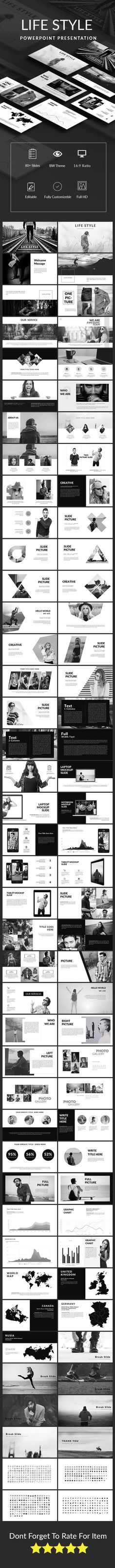 Life Style Powerpoint Presentation Template (PowerPoint Templates)