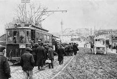 Tranvía de la línea Ventas - Ciudad Lineal - Cuatro Caminos allá por el año 1909