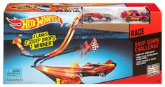 HOT WHEELS® DROP DOWN CHALLENGE™ Track Set- Shop Hot Wheels Cars, Trucks & Race Tracks | Hot Wheels