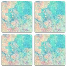 Now available on our store: Colorful Waves Co.... Check it our here! http://www.colorpur.com/products/colorful-waves-coaster-set-of-4-artist-astha?utm_campaign=social_autopilot&utm_source=pin&utm_medium=pin