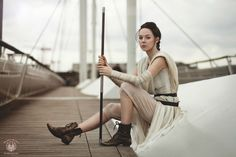 Rey Cosplay - Star Wars : The Force Awakens - Photographer - So Say We All - https://facebook.com/sosayweallfaramon/  Model - Catlin Cosplay - https://facebook.com/CatlinCosplay