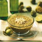 Try the Gazpacho Verde Recipe on Williams-Sonoma.com    Subbed the walnuts with toasted sunflower seeds, lemon instead of lime and roasted all the peppers.