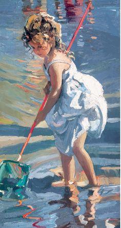 Sherree Valentine-Daines 1956   British impressionist painter