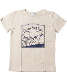 KITSUNE TEE SURF CLUB