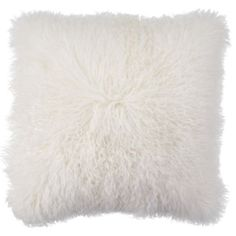 Mongolian Pillow from Z Gallerie Arizona: 2 for living room Stylish Bedroom, Stylish Home Decor, White Home Decor, Affordable Modern Furniture, Affordable Home Decor, Contemporary Furniture, Modern Contemporary, White Throw Pillows, Toss Pillows