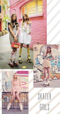 Skater Girls by decor8, via Flickr