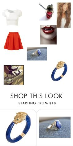 """Vampire Diaries (OC)"" by justinegeib ❤ liked on Polyvore featuring Van Cleef & Arpels, Yumi and Converse"