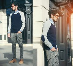 slim fit and layers