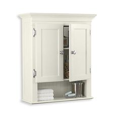 Bed Bath and Beyond Fairmont Cream Wall Cabinet $99.99