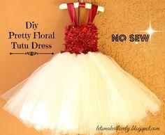 Let's make it lovely: DIY Flower girl dress or Tutu dress