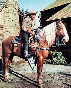 Roy Rogers and Trigger......amazing horse tack....