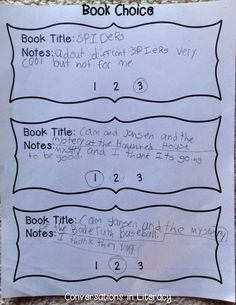 could use this idea for my reading log index cards I want my kids to use. The Gift of Reading: Hook Students In With Book Choice & Wrap Up the Books Like a Present- FREEBIE Reading Lessons, Reading Activities, Teaching Reading, Guided Reading, Teaching Ideas, Teacher Freebies, Teacher Tips, Book Log, Third Grade Reading