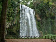 Monastary and waterfall park near Zaragoza, Spain (Monestario de Piedra).  Simply put = stunning.