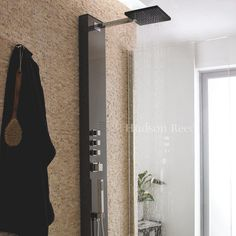 Mirage Thermostatic Shower Panel by Hudson Reed.