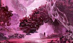 10 awe-inspiring sci-fi images from Digital Art Masters: Alien Jungle by Arthur Haas, Volume 9. Image © Arthur Haas (http://www.ahaas.nl/)