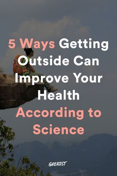 The best medicine is free.  #greatist https://greatist.com/live/health-benefits-of-spending-time-outdoors-in-nature