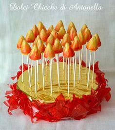 Cakepops flame Cakepops fiamma