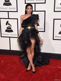 Ciara - 57ème soirée annuelle des Grammy Awards au Staples Center à Los Angeles, le 8 février 2015.