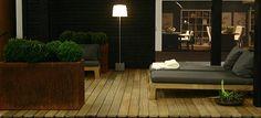 Dutch Designer Piet Boon Inspiration - Sober Chic Wooden Terrace & Garden Furniture at a K Veranda. Garden Furniture, Outdoor Furniture Sets, Outdoor Decor, Terrace Garden, Terrace Ideas, Wooden Terrace, Flat Ideas, New Builds, Curb Appeal
