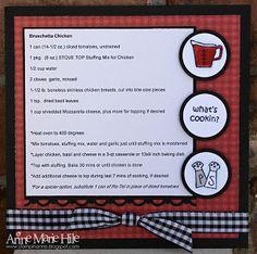Stampin'  Anne: Recipe Swap