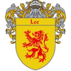 Lee Coat of Arms   http://irishcoatofarms.org/ has a wide variety of products with your surname with your coat of arms/family crest, flags and national symbols from England, Ireland, Scotland and Wale