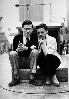 Richard Avedon & Judy Garland.
