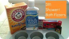 Elle Sees|| Beauty blogger in Atlanta: DIY: Bath/Shower Disc Fizzers/ Lip Scrub/ Rubbing Vapor