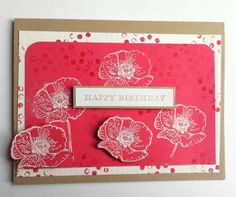 """Happy Watercolor"", Stampin' Up!"