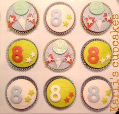 Hoera! 8 jaar #Karli's cupcakes