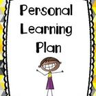 Personal Learning Plan for goal setting. Use this template to set goals with students throughout the year.   Please leave feedback for this free product! Thanks!  Kindergarten first grade second third fourth fifth personalized subject interests interest