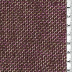 Magenta Purple/Brown Wool Coating  for my fall cape