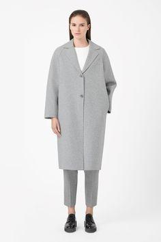 Cos - Clean-edge wool coat