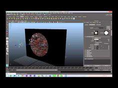 Maya tutorial : Light baking on textures - YouTube