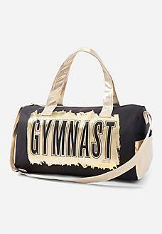 Luxe Metallic Sports Bag