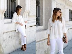 Get this look: http://lb.nu/look/8284325  More looks by Amy Ramírez: http://lb.nu/toks  Items in this look:  Suattiworld Blouse, Zara Jeans   #chic #minimal #street