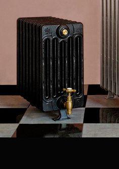 Red 6 Column Cast Iron Radiator Love Efficient Heating