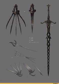 Dark Souls,фэндомы,артбук,концепт-арт,оружие