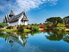 Travel & Adventures: Thailand ( ประเทศไทย ). A voyage to Thailand, Asia - Bangkok (Krung Thep), Pattaya, Nonthaburi, Lampang, Nakhon Si Thammarat, Ba Con, Chiang Mai...
