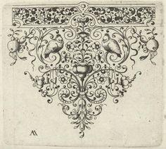 Spits met bloem en twee vogels, Laurent Jansz Micker, Anonymous, c. 1675 - c. 1700_ https://www.rijksmuseum.nl/en/collection/RP-P-1898-A-20104