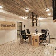 Te leuk: Een kantoor in de stijl van een koffiezaak