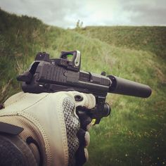 Running the HK-45 with Trijicon and Silencer Co.