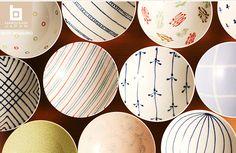 白山陶器  Hakusan Porcelain —We have started collecting a couple of these hirajawan each time we visit Japan.