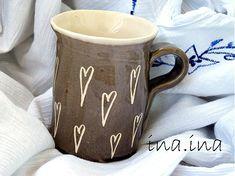 cute mug with hearts (I love handmade stuff)
