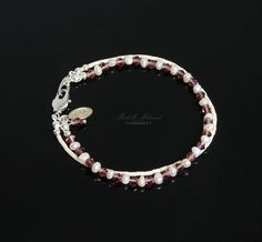 Seed+Pearl+Crystal+Bracelet+by+MichelleMilward+on+Etsy,+$34.50