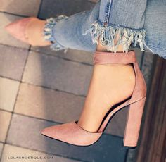 You can buy these heels on website: http://www.lolashoetique.com/new-arrivals #heels #rose #style